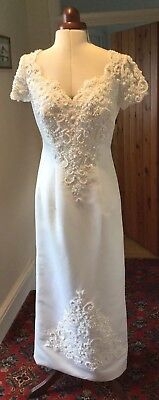 Vintage Beaded Wedding Dress By Forever Yours