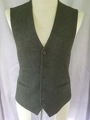"Men's vintage Next waistcoat 40"" chest medium tweed style. Gareth Southgate lol"