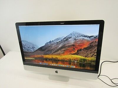 "Apple iMac 27""  MC510LL/A  Core i3 3.2 GHz  4 GB RAM 1TB HDD High Sierra WiFi"
