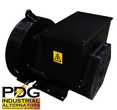 25 kW Alternator Generator Head GENUINE PDG INDUSTRIAL 3 Phase PDG-184F-3