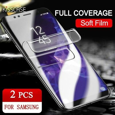 KISSCASE 6D Screen Protector For Samsung Galaxy S8 S9 Plus Gel Film Protector