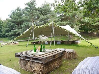 STRETCH TENT *HIRE* Wedding Festival Garden Party Marquee HIRE | 7.5x10m |