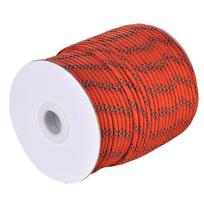 30M 5mm Awning Reflective Guyline Rope Runner Line Cord Paracord Camping Tent