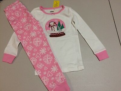 NWT Gymboree Christmas Girls Gymmies Snowman Snow Globe Pajama Set Many Sizes