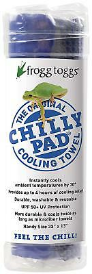 FROGG TOGGS CHILLY PAD SKY BLUE COOLING TOWEL - Model CP100-02