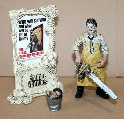 LEATHERFACE The Texas Chainsaw Massacre Movie Maniacs McFarlane Action Figure
