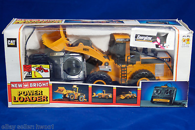 New Bright Wired RC CAT Power Loader No. 290 in Box, Tested Works, 1995 Vintage