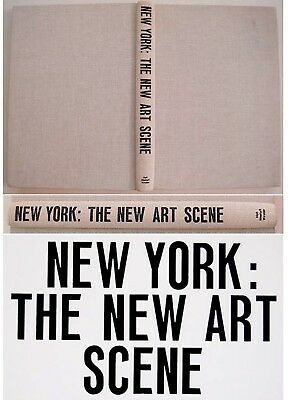 1967 NYC Photo Book POP ART Rauchenberg WARHOL Segal STELLA Lichtenstein JOHNS