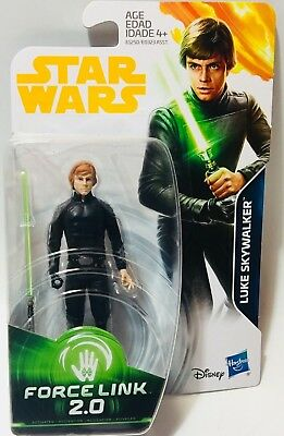 Star Wars Force Link 2.0 ROTJ Luke Skywalker  3.75in Figure IN STOCK NEW