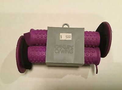 OAKLEY O/Wing OWing Grips - Purple - Original American Made NEW (Old Stock)