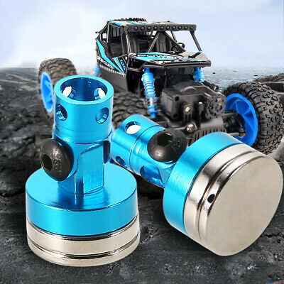4x 1:10 Blue RC On Road Drift Car Stealth Strong Magnetic Body Shell Post Mount