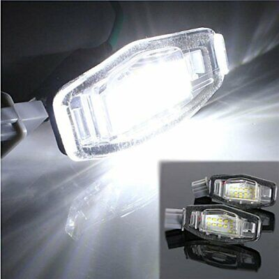 2PC 18LED License Plate Light Direct Fit For Acura TL TSX MDX Honda Civic Accord