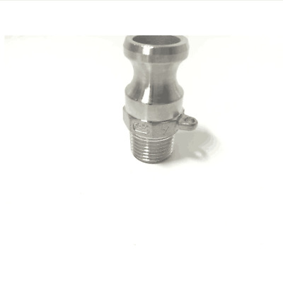 homebrew beer Camlock QD - 1/2 Type F, Stainless Steel 316, Homebrew Fitting, 1/