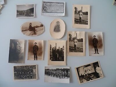 Lot De Photos Militaires Anciennes Soldats Ww2 Ww1 Photo Soldier France Army