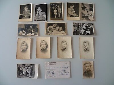 Ww2 Sto Service Travail Obligatoire Lot De 15 Photos France Allemagne Stalag