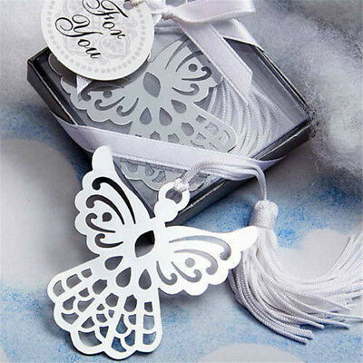 2pcs Angel Tassels Metal Bookmark Kawaii Stationery Gift Notepad Book Tag New