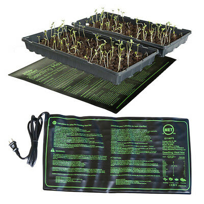 17.5W Electric Heat Mat Plant Seedling Hydroponic Warm Pad Propagator Waterproof