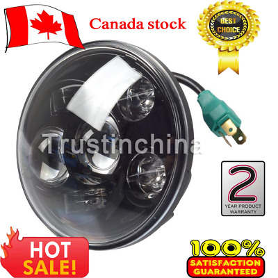 """5.75""""LED Projection Daymaker Headlight For Harley Sportster XL 883 1200 Dyna"""