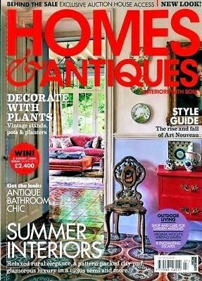 Homes & Antiques Magazine Issue July 2018 ~ New ~