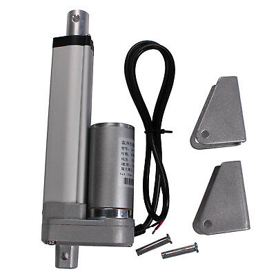 """DC24V 100mm 4"""" Linear Actuator Motor 1500N 330lbs Multi-function For Boat,Autos"""