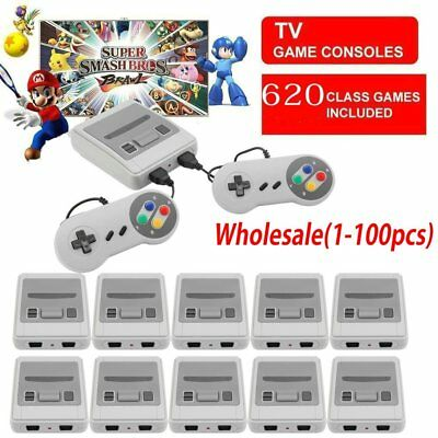 For Nintendo Super Mini SFC Game Console Entertainment System Built in 620 Games