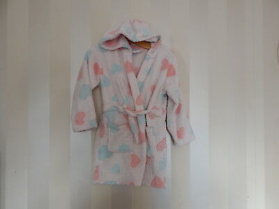Girls ~ Matalan Robe ~ Size 6-7 Years ~ Vgc ~ Ref  Box A10