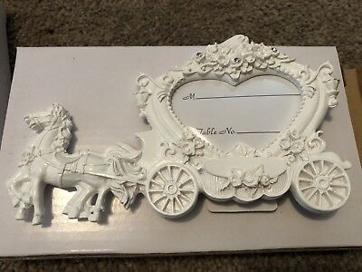 Self-Paint Horses & Carriage Photo Frame x 10