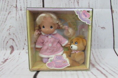 Vtg 1998 Precious Moments Cindy My Precious Pal Doll With Bear. New In Box.