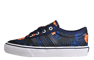 watch ef801 c0ea3 Adidas Originals Adi Ease Mens Classic Casual Retro Plimsol Trainers Navy