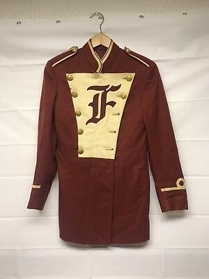 Vintage marching Band Jacket red Otswald Co 50s?