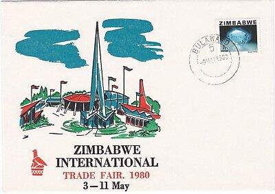 Zimbabwe: 1980, International Trade Fair, Rare cover