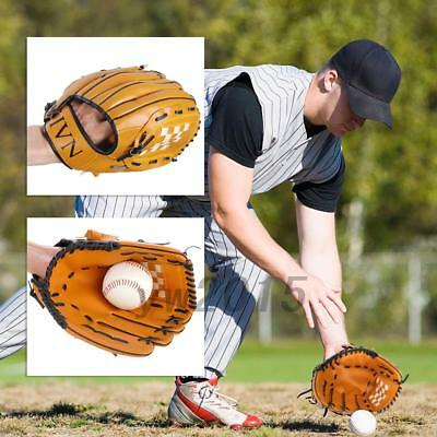 One Piece Left Hand Glove Baseball Softball PVC Leather Sport Outdoor AU Post