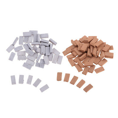 1:35 Scale Simulation Resin Brick Models 10Pcs for Land Wall Building Parts
