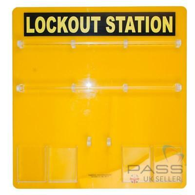 Lockout Tagout Station - Without Accessories (Stores upto 36 padlocks) /UK
