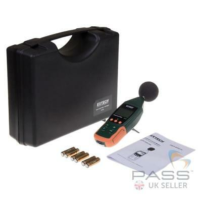 *NEW* Extech SDL600 Type 2 Sound Level Meter/Datalogger + 2GB SD Card and Case