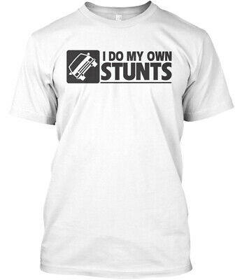 Fun Only Few Hours Left - I Do My Own Stunts Hanes Hanes Tagless Tee T-Shirt