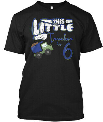 One-of-a-kind Little Boys Trucker Girls Hanes Tagless Hanes Tagless Tee T-Shirt
