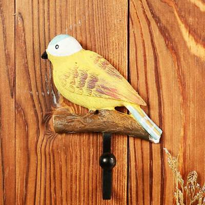 3PCS/set Bird Resin Over Door Hanger Hook Kitchen Cabinet Hat Coat Towel Holder