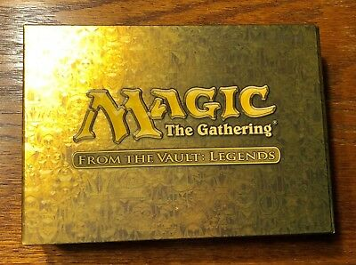 Mtg From the Vault LEGENDS Set - New - Factory Sealed FTV