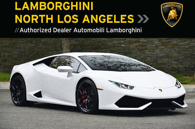 2015 Lamborghini Huracan LP610-4  *LAMBORGHINI *HURACAN *LP-610 *WHITE *RED