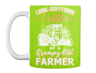 Long-suffering Wife Of A Farmer Gift Coffee Mug