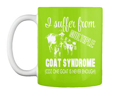 I Suffer From Multiple Goat Syndrome Gift Coffee Mug