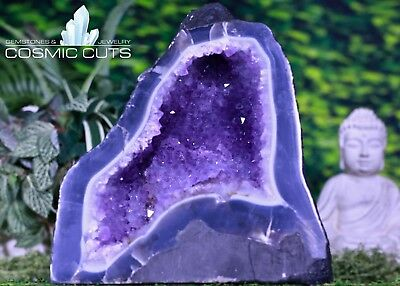 AMETHYST GEODE CATHEDRAL 14 00 Rare Mineral BB-145y