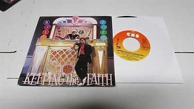 "BILLY JOEL Keeping The Faith 1984 7"" VINYL Import HOLLAND"