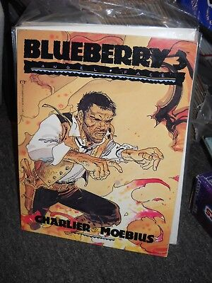 Blueberry 3 Angel Face Moebius Western Marvel Epic Comics GN RARE English