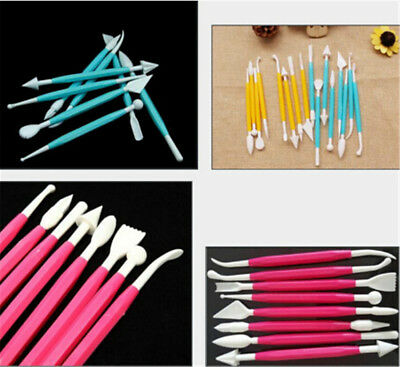 8pcs/set Kids Favorite Polymer Clay Tools Plastic Tools For Shaping ClayToys  WR