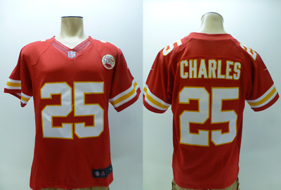 New NIKE MEN'S KANSAS City Chiefs Jamaal Charles Game White Jersey WHITE  for sale