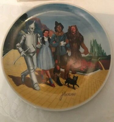 """1979 Knowles Wizard of Oz - The Grand Finale Collectors Plate 10"""""""