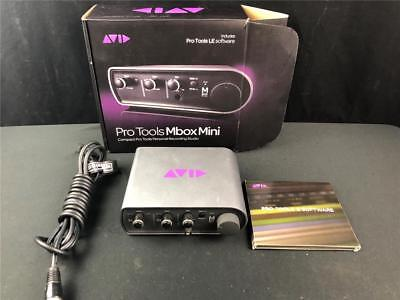 Avid Mbox 3 Mini Usb Interface With Pro Tools 8 Dvd Package In Box