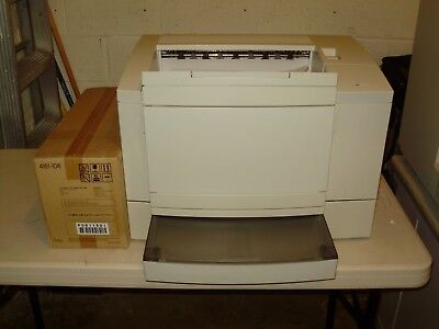 MINOLTA MSP 3000 MICROFILM LASER PRINTER with NEW TONER/IMAGING UNIT & CABLES